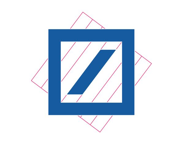 Anton Stankowski, Deutsche Bank Logo / circa 70's (With