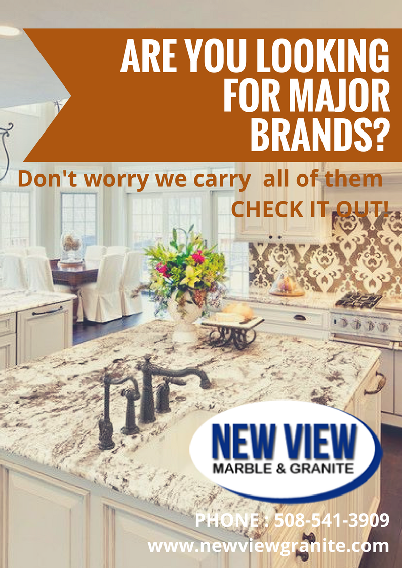 Are You Looking For Major Brands Don T Worry We Carry All Of Them Check Out Http Newviewgranite Quartz Countertops Granite Countertops Kitchen Countertops