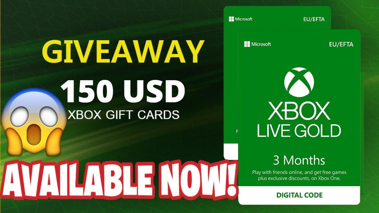 Free xbox gift card codes how to get xbox gift in 2020