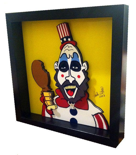 Captain Spaulding Print Captain Spaulding Art Horror Pop Art House