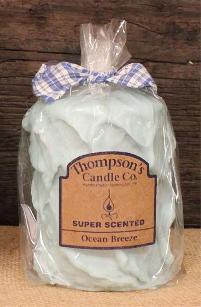 Prim Country Ocean Breeze Medium Pillar, Handmade in the USA, Super Scented #CountryCandles #Primitives