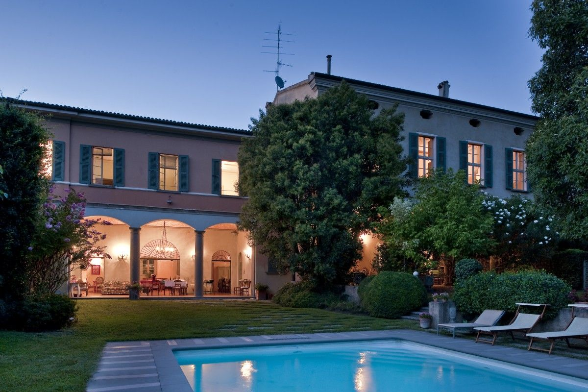 Villa Iseo, luxury palace near Brescia and Iseo Lake, in Lombardy ...