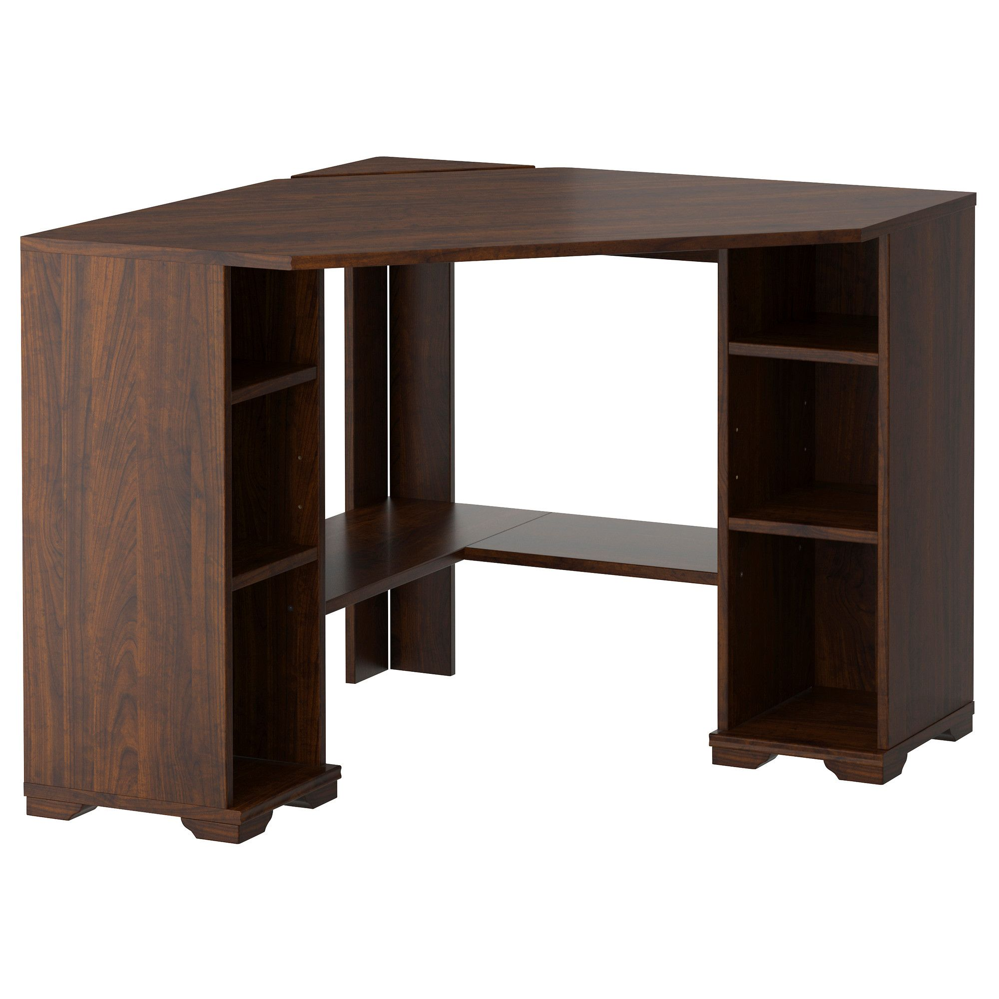 right with computer the ikea shelves hack corner office furniture your hutch beautiful of for desk