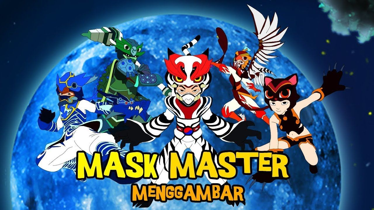 mask master   wow karakter keren untuk menggambar mask