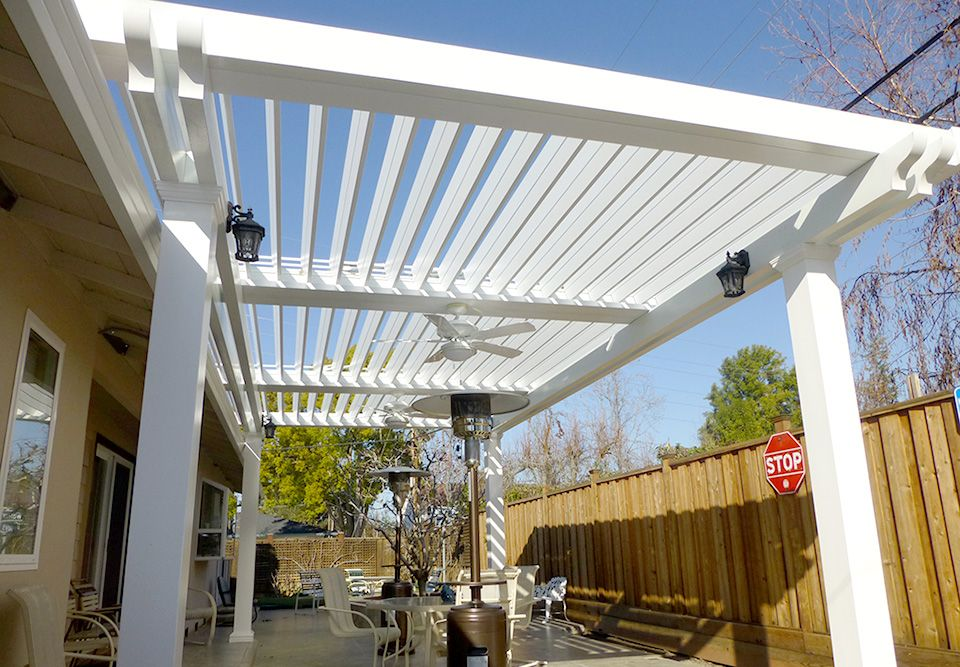 Louver Patio Cover | Apollo Opening Roof System