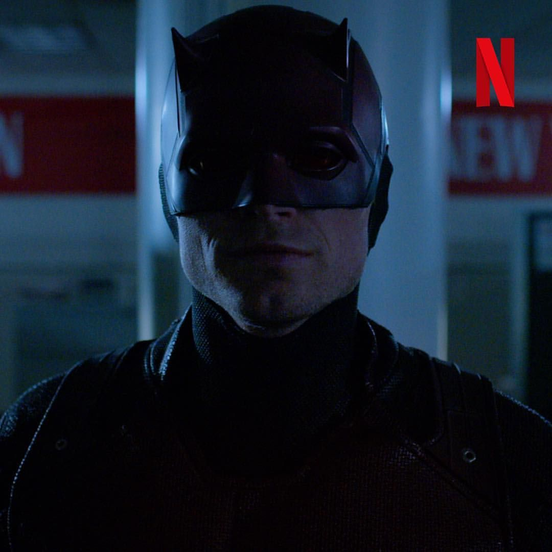 "The First Netflix Daredevil Trailer Is Out: Darkness Only Responds To Darkness. ""Marvel's @Daredevil"