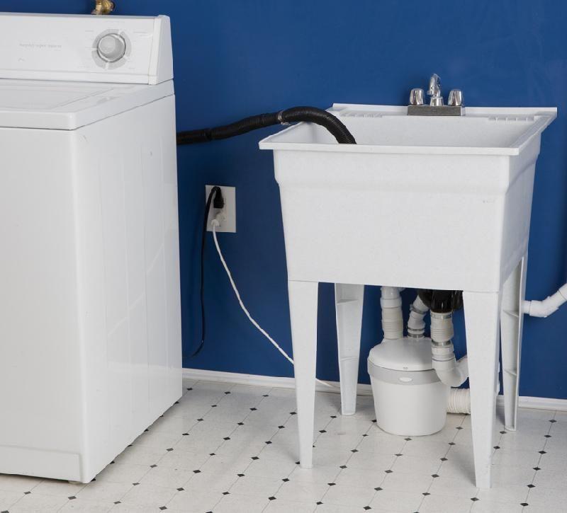 Saniflo Saniswift Gray Water Pump Water Pumps Laundry Room Sink
