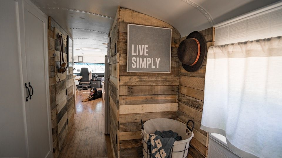 Expedition Happiness School Bus House Bus House Old School Bus