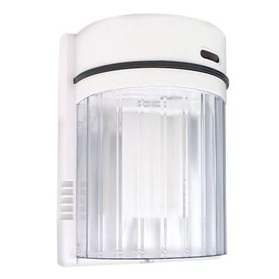 Lights Of America 27 Watt Fluorescent Wall Light White 9011 The
