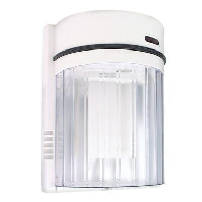 Lights Of America 27 Watt Fluorescent Wall Light White 9011 The