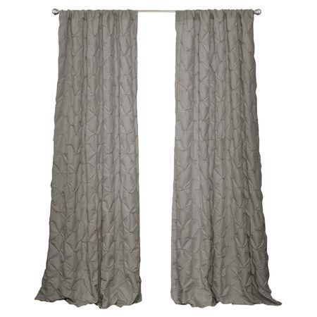 Curtain With Embroidered Tufting. Joss And Main Product:  CurtainConstruction Material: PolyesterColor: Grey