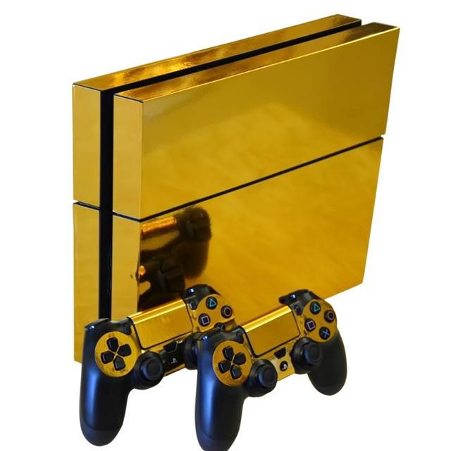 high quality vinyl sticker for ps4 prevent scratch and dust make