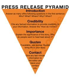 How To Write A Press Release  Google Search  Writing