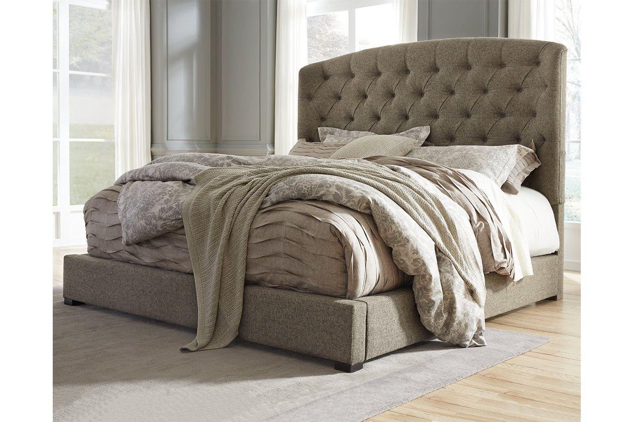 Gerlane Queen Upholstered Bed Ashley Furniture Homestore King Upholstered Bed Upholstered Beds