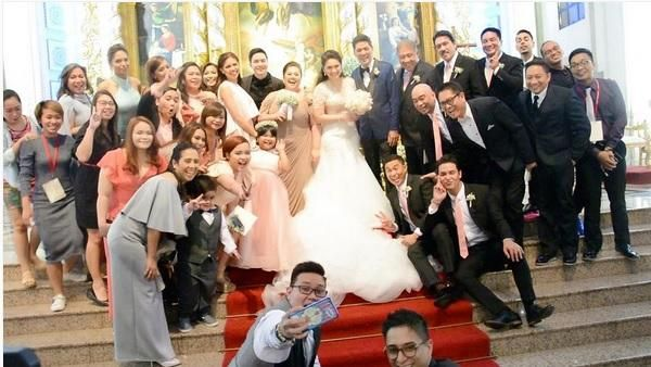 Video Vic Sotto And Pauleen Luna S Wedding Highlights Wedding Highlights Wedding Wedding Dresses