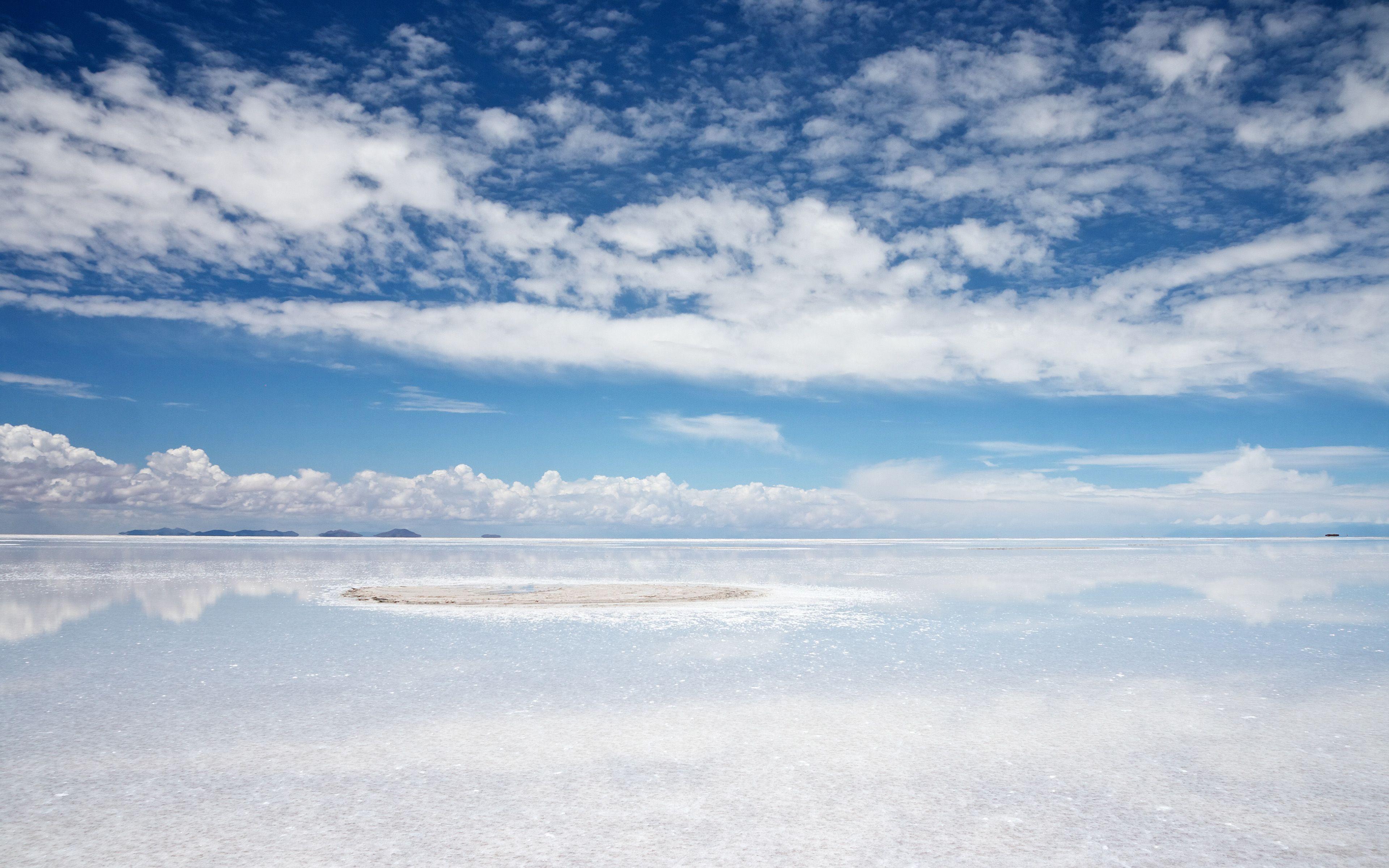 Salar De Uyuni Bolivia Tempat