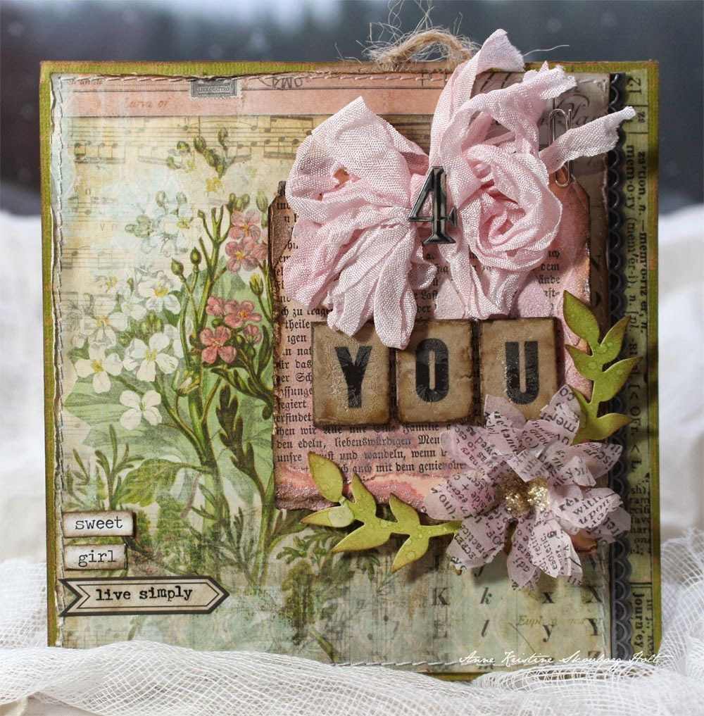 Anne's paper fun: Cards {CHA 2014}