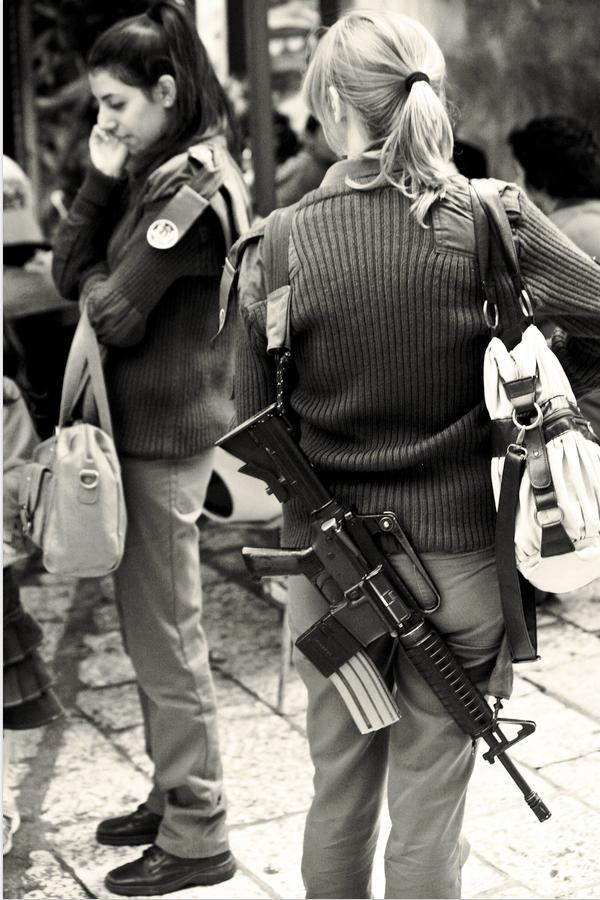 In Israel schoolteachers carry around guns for safety. | A ...