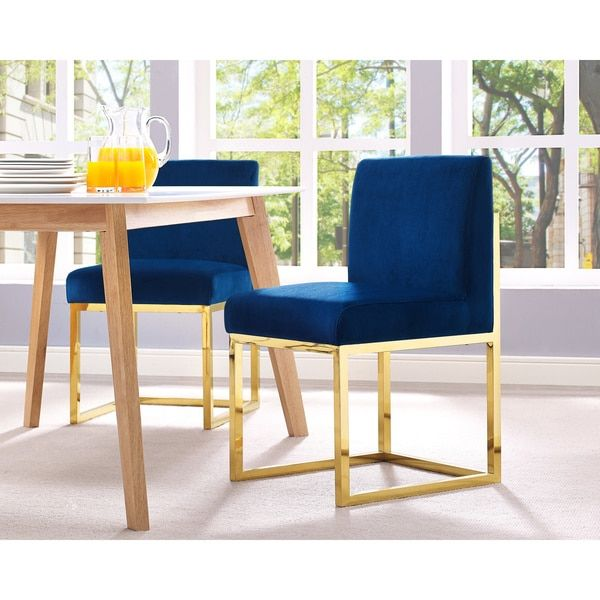Haute Navy Velvet Chair  Overstock Shopping  The Best Deals Captivating Overstock Living Room Chairs Review