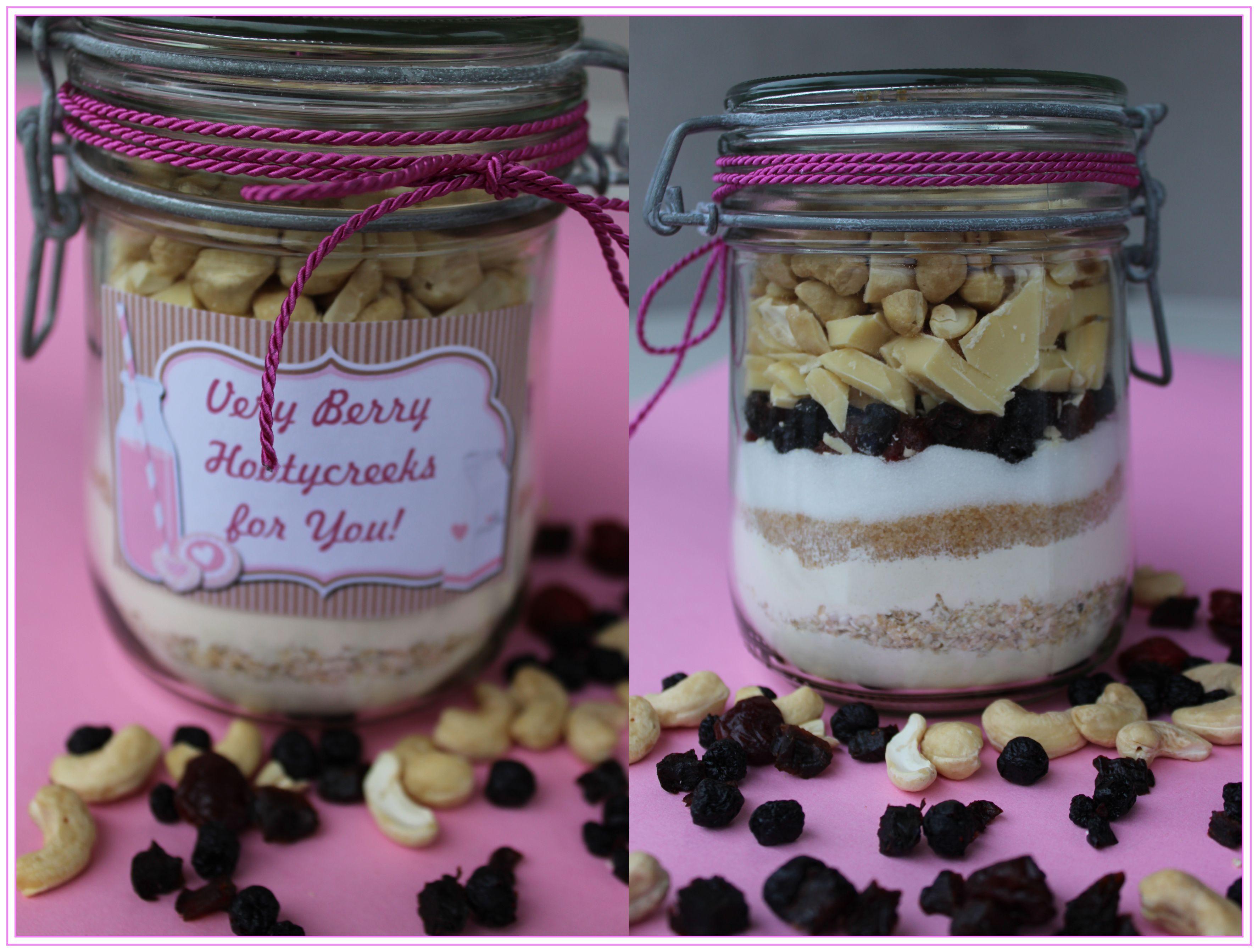Geschenke Aus Dem Glas 2 Cookies Very Berry Hootycreeks Kuchen