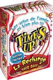 Time's Up : La recharge 2012 - 2013 disponible le 15 juin chez Asmodee Editions http://asmodee.com/ressources/jeux_versions/time-s-up-2012_2.php