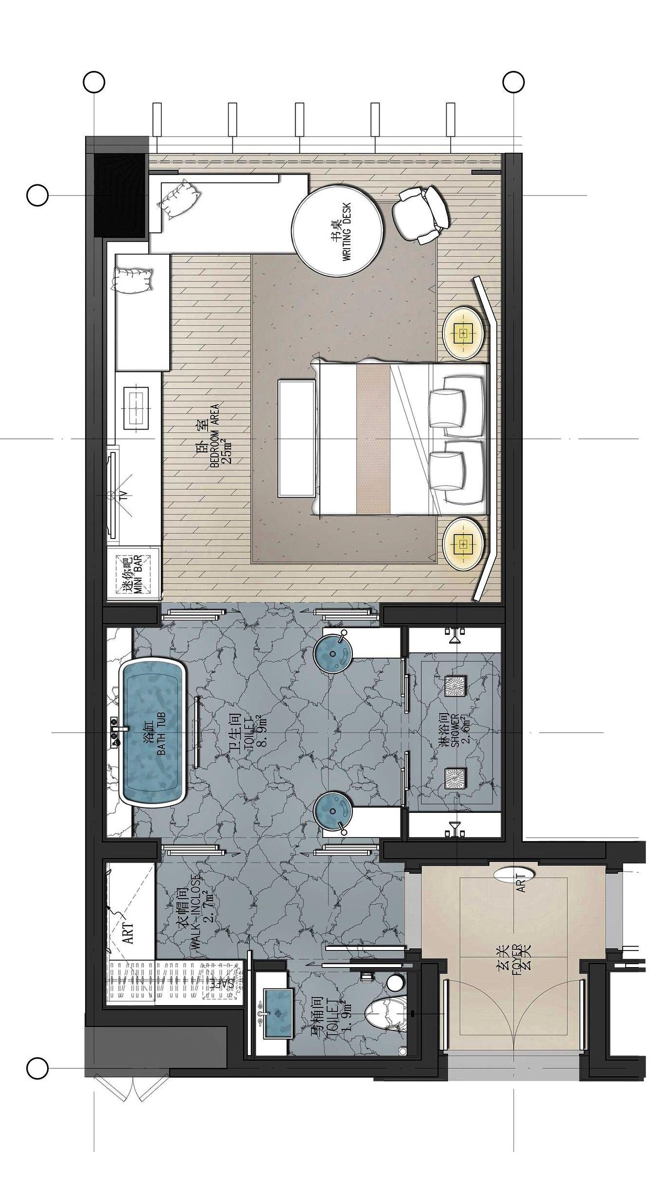 Conrad Guangzhou Hotel Floor Plan Hotel Room Plan Hotel Room Design