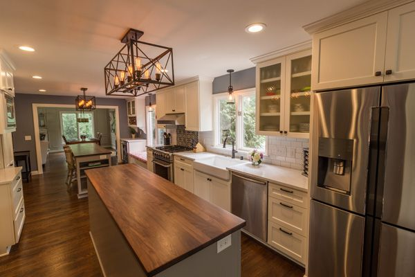 Project 3261-1 Edina Traditional Kitchen Remodel with 2 Islands