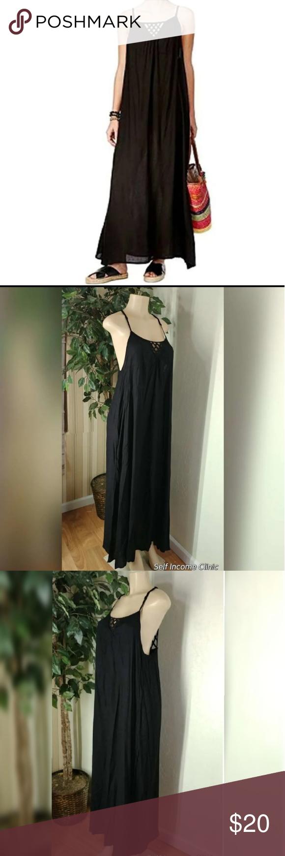 6e8d6925f0 Raviya Women's Lattice-back Maxi-Dress