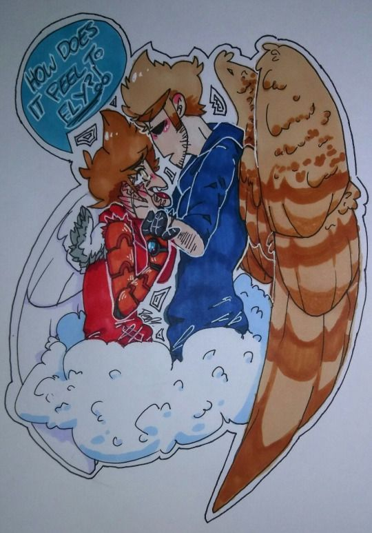 IS THIS TOM X TORD?????? I don't really know?????????? Tord is