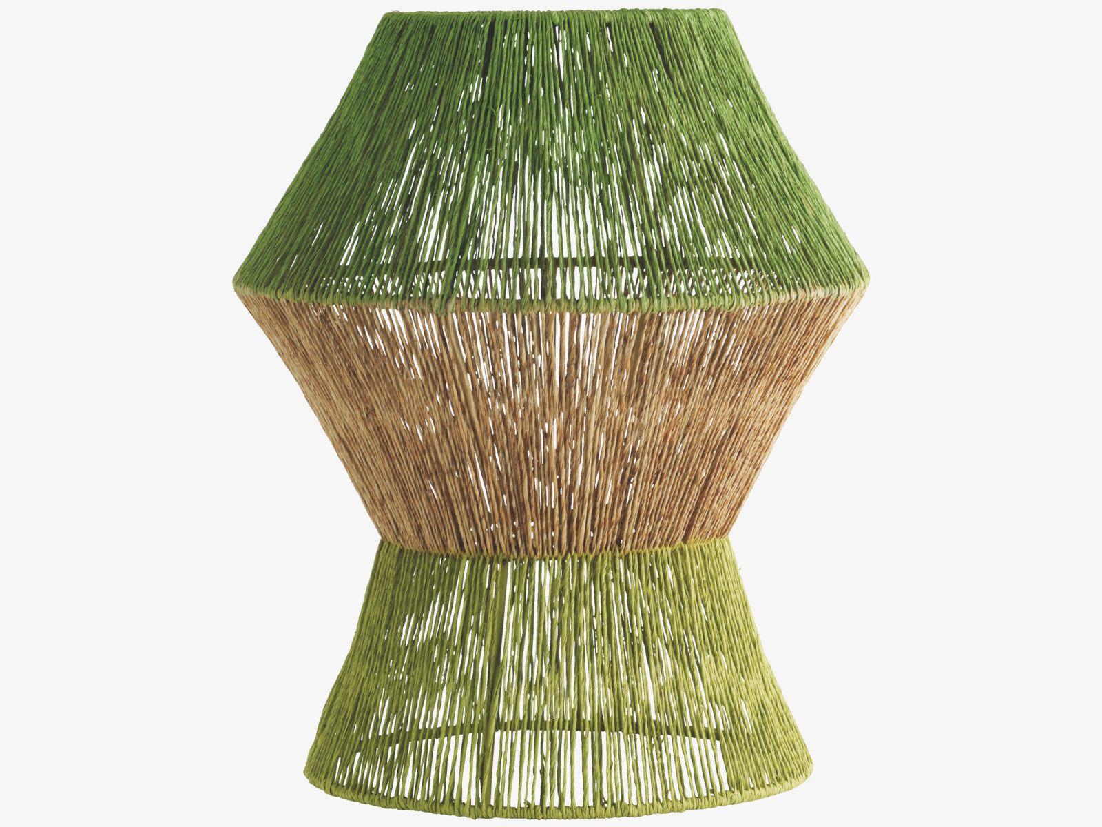 EVIE GREENS Jute Green jute table lamp HabitatUK Jute