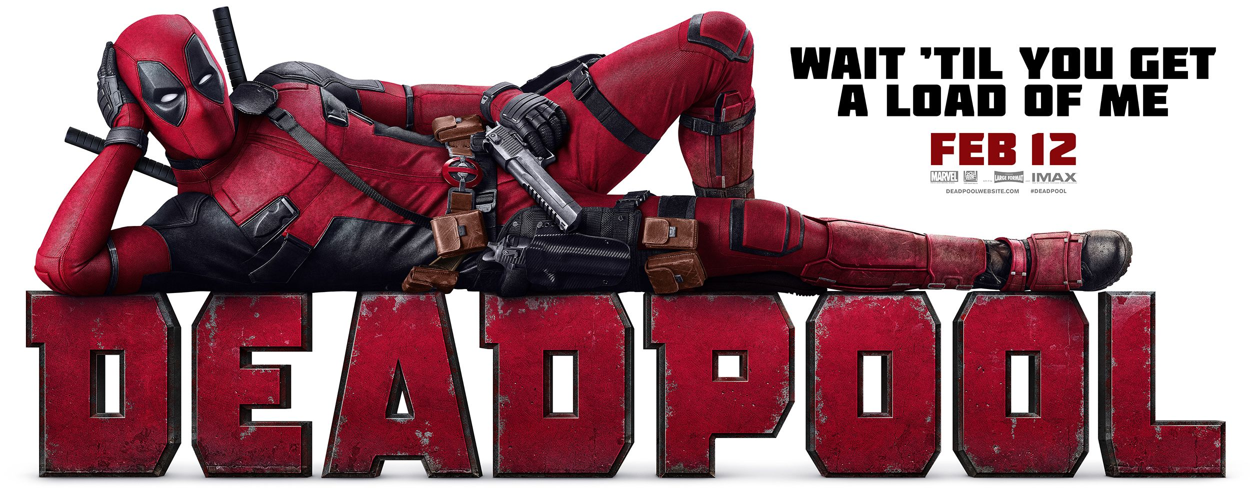 Deadpool 405 Wall Ten30 Studios Theatrical Movie Posters