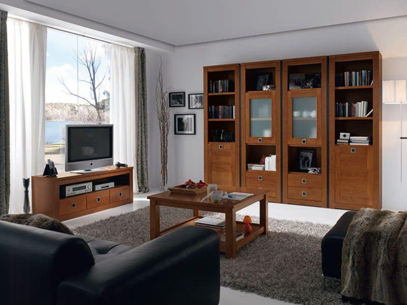 Mueble salón 1.500€ Crea27 Color Cerezo. Más colores, mas formas ...