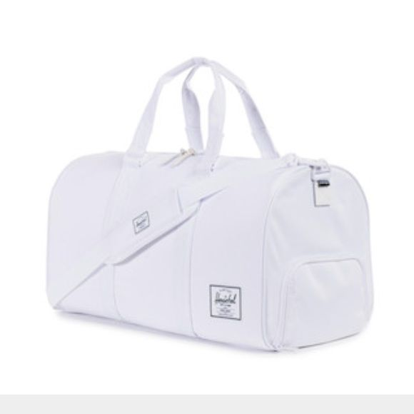 Nwt Herschel Duffle Bag White Brand Very Sy Supply Company Bags Travel