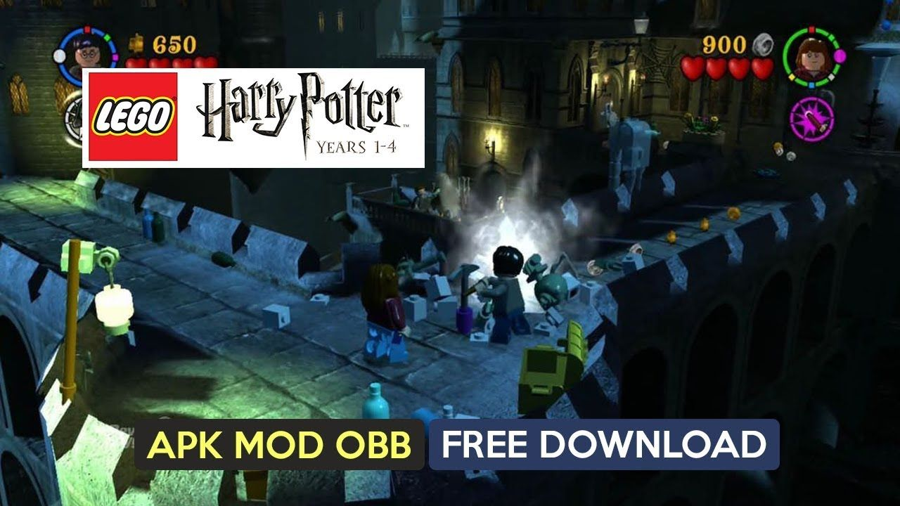 LEGO Harry Potter Years 14 Apk Mod OBB for Android free