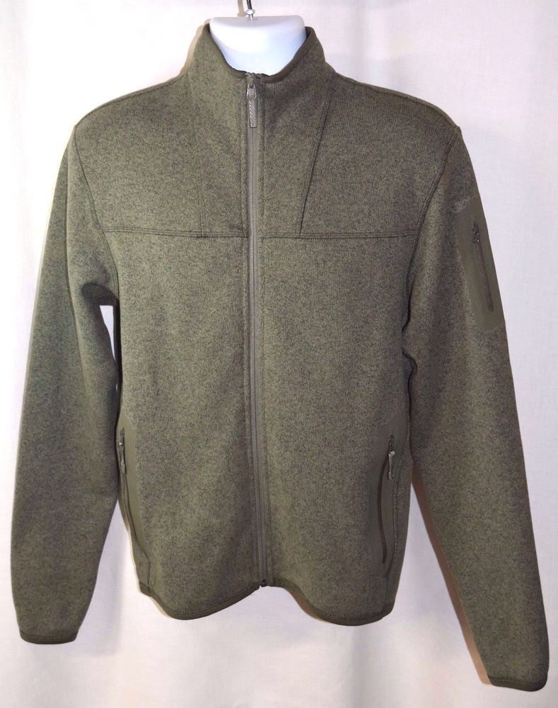 c34c7e5c69 MENS ARC'TERYX COVERT Cardigan POLARTEC Fleece Jacjet Sz Medium Anaconda  Green #Arcteryx #FleeceJacket