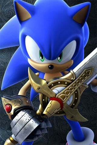 iPhone wallpapers and iPod touch wallpapers Sonic, Sonic