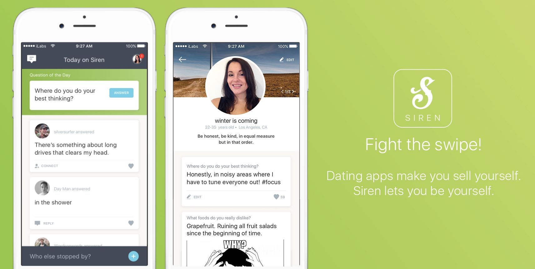 Real People Fight the Swipe Dating apps, Real people