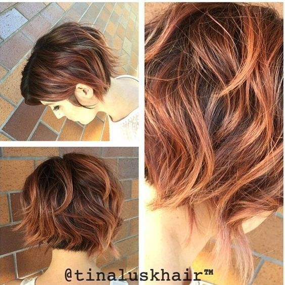 cute balayage bob haarschnitt messy kurze bob frisuren f r dicke haare next haircut. Black Bedroom Furniture Sets. Home Design Ideas