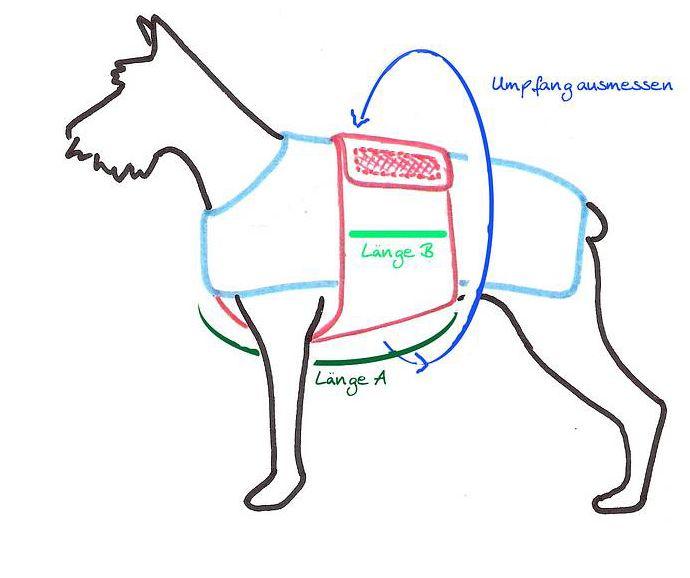 Bildergebnis für schnittmuster hundemantel selber nähen | DIY ...