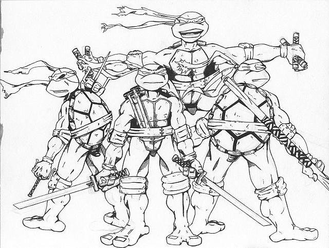 Disegni Tartarughe Ninja Da Colorare On Line.Risultati Immagini Per Disegni Di Tartarughe Ninja