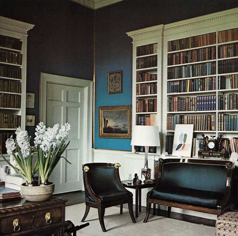 On Living With Taste David Hicks 1968 Library Pinterest David Hicks Interiors And