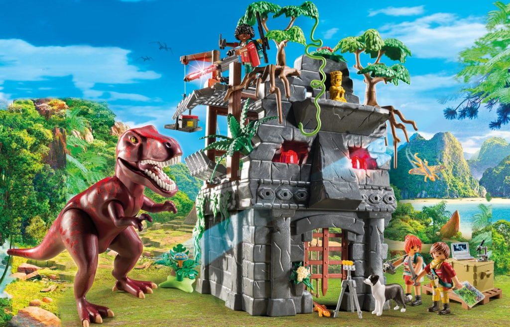Hidden Temple With T Rex Best Toy Review Nappa Awards Playmobil Dinosaur Toys Dino Island