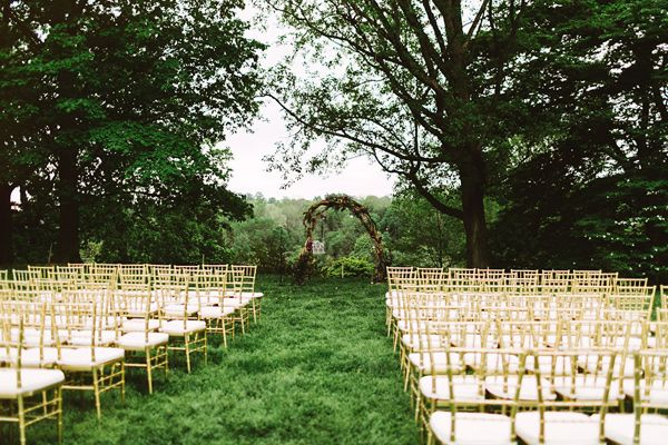 Garden Wedding At Morris Arboretum