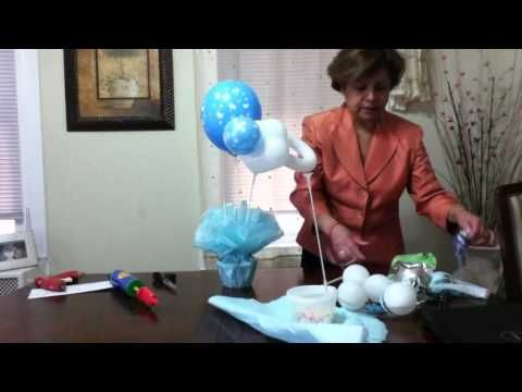 "Julyta Star ""Centro de Mesa para Babyshower"" - YouTube"