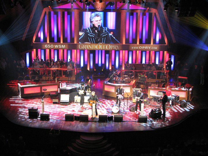 Grand Old Opry House Nashville Watched From Backstage As A Guest Of Wilburn Brothers Met Marty Robbins And All The Regu Visit Tennessee Places To Travel Music City Nashville
