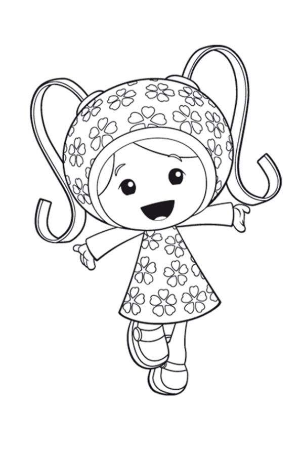 Coloring page Team Umizoomi Team Umizoomi on Kids-n-Fun.co.uk. On ...