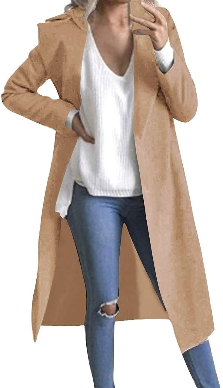 Steve Madden Damen Plus Size Long Outerwear Jacket
