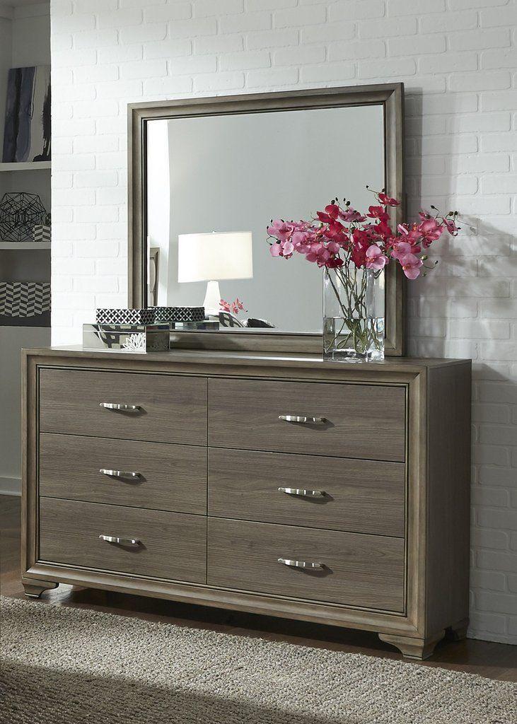 Hartly Dresser Mirror New Bedroom 6 Drawer Dresser Liberty
