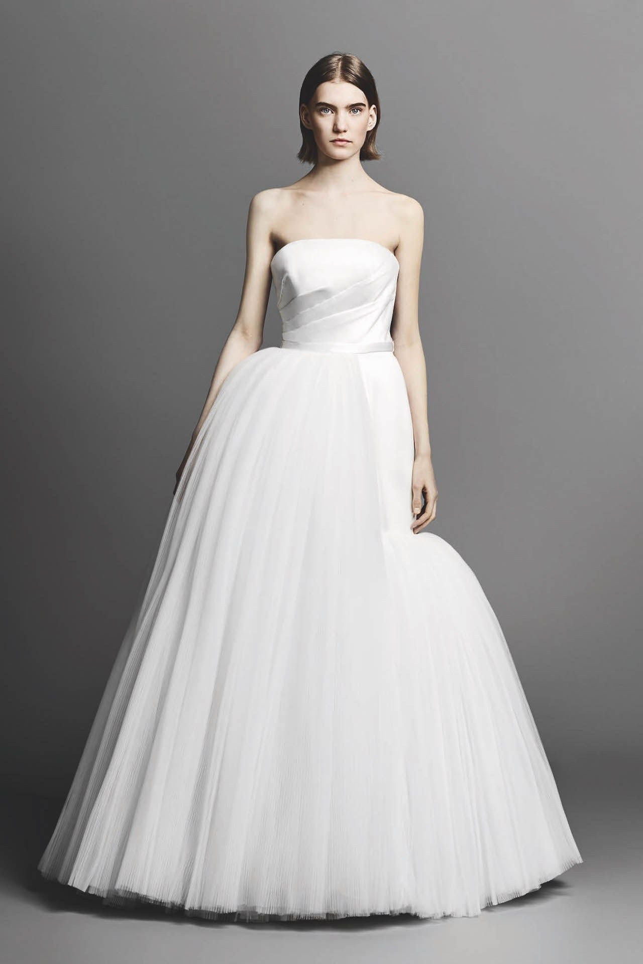 38 Beautiful Strapless Wedding Dresses