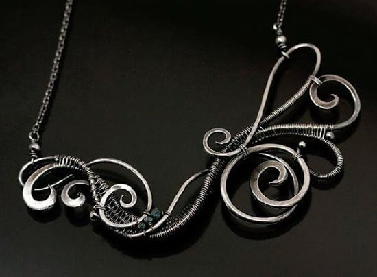 Calligraphy Pendant by Sarah Thompson